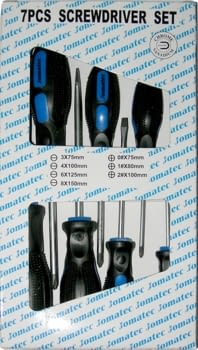 Kit 7 destornilladores Torx