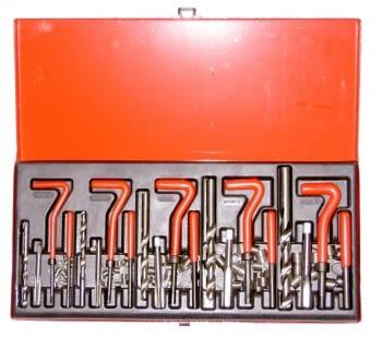 Estuche reparación de roscas M5, M6, M8, M10 y M12