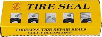 Caja 60 parches para reparación de neumáticos