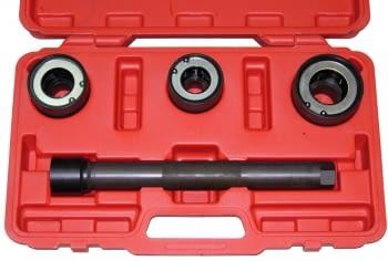 Extractor rotulas axiales con 3 cabezales