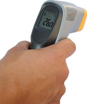 Termómetro infrarojos con guia láser 1000ºC