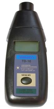Tacómetro digital láser