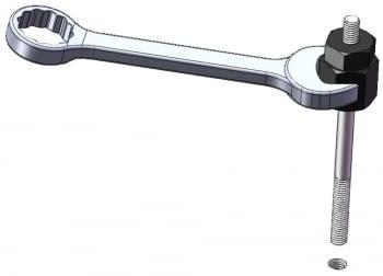 Kit 8 pcs. instalar/extraer pernos y esparragos. - 2