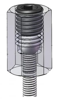 Kit 8 pcs. instalar/extraer pernos y esparragos. - 3