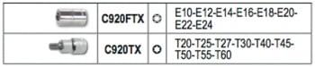 Estuche vasos Torx macho/hembra 923 FTX/C16 Beta. - 1