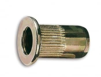 Remache roscado de acero M6 (20 unidades)