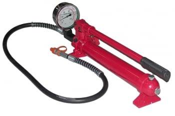 Gato hidraulico 10Tn con manómetro