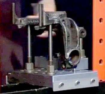 Base para prensa hidráulica - 1