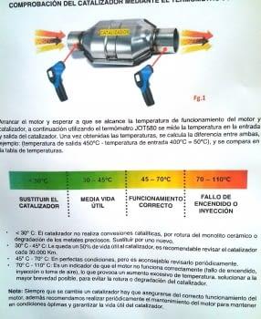 TERMOMETRO DIGITAL LASER -50º / +580º (ESPECIAL CATALIZADORES) - 3