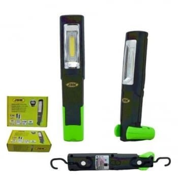 PORTATIL BASE ARTICULADA LED COB CON BATERIA RECARGABLE - 1