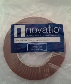 CINTA DOBLE CARA PROFESIONAL 12MM X 10 METROS NOVATIO - 1