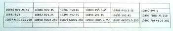 ESTUCHE 635 TERMINALES FASTON - 3