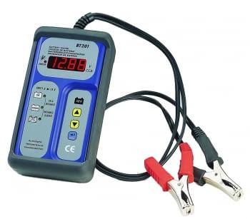 Comprobador digital de baterias y alternadores
