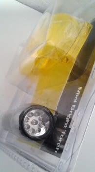 LAMPARA UVA 9 LEDS + GAFAS PARA FUGAS A/C - 2
