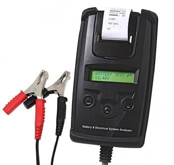 Comprobador digital de baterias con impresora