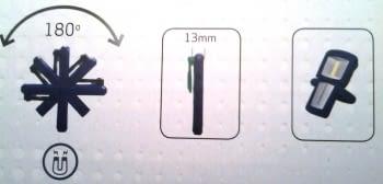 JUEGO 4 LAMPARAS MINIFORM (COLORES) SCANGRIP - 5