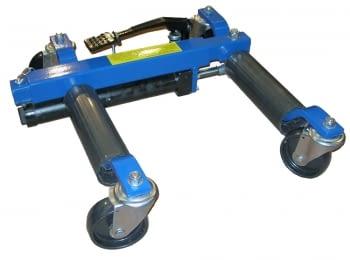 Carro hidraulico para elevación de vehículos