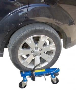 Kit  2 Carros hidraúlicos para elevación de vehiculos, - 2