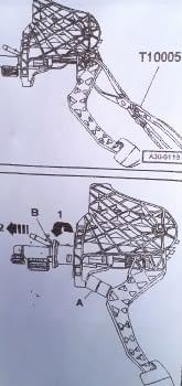 ALICATE ESPECIAL DESMONTAR BOMBA EMBRAGUE VAG - 3