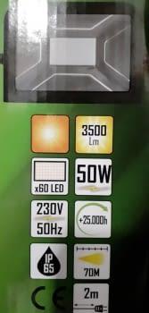 FOCO TALLER LED 50W - 2