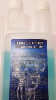 BOTELLA FLUIDO DETECTOR FUGAS PARA MAQUINA DE HUMO (TH760) DE 500ML. - 1