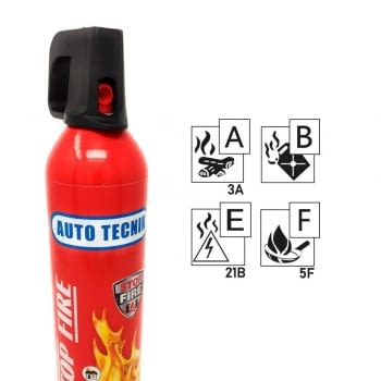 MINI EXTINTOR (750ml) STOP FIRE - 2