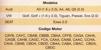 KIT CALADO DISTRIBUCIONES VAG 1.6/2.0 TDI - 1