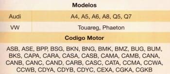 KIT CALADO DISTRIBUCIONES VAG 2.7/3.0 TDI - 1