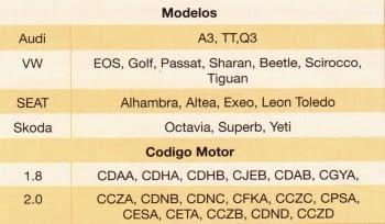 PALANCA TENSADO CADENA VAG 1.8/2.0 TFSI - 1