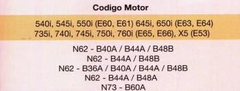 KIT CALADO DISTRIBUCIONES BMW N62/N63 - 1