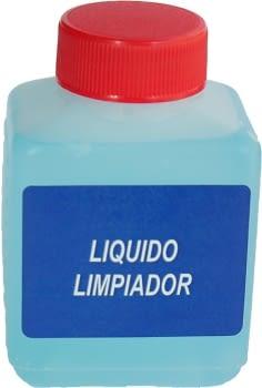 Líquido limpiador para comprobador de fugas