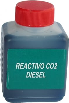 Líquido reactivo CO2 para motores diesel