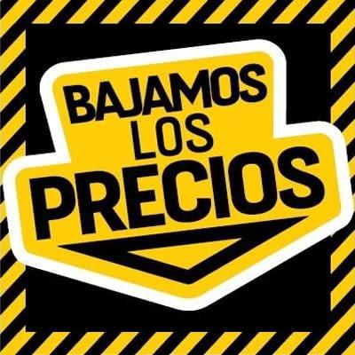 BAJAMOS LOS PRECIOS