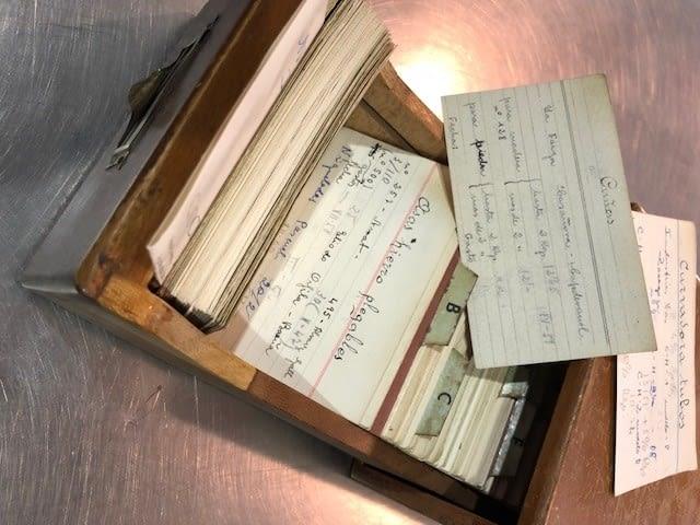 Archivo de tarifas