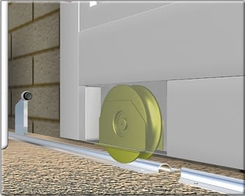Guía para atornillar corredera inferior galvanizada  (barra 3 metros) - 2