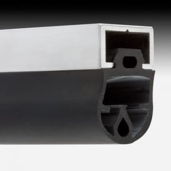 Perfil aluminio para goma paragolpes 25 mm, tira de 2 metros, AUMON - 1