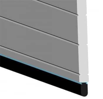 metros Goma paragolpes puerta batiente 25x40 mm AUMON - 1