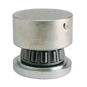 Base inferior INOX con rodamiento para puerta batiente AUMON