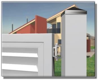 Bisagra superior/inferior regulable para puerta batiente AUMON - 1