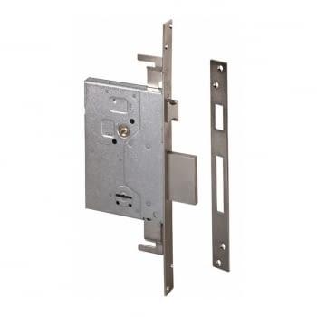 Cerradura embutir borjas con palanca y picaporte 60 mm CISA