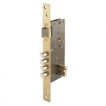 Cerradura embutir mod. 700-B antipalanca cilindro descentr.EZCURRA