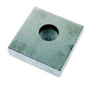 Base inferior para pernio de puerta batiente AUMON