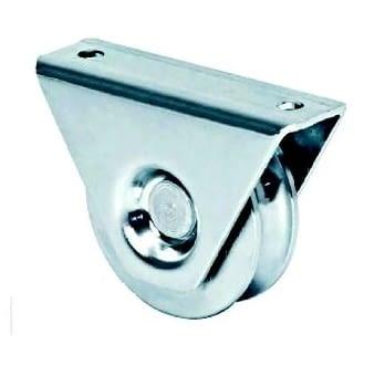 Rueda con soporte de sobreponer, canal de 16 mm AUMON