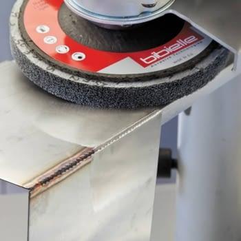 Paquete 10 discos BUF con soporte de fibra de vidrio BIBIELLE - 1