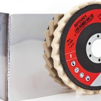 Paquete 10 discos BFD  para pulido brillo espejo  BIBIELLLE - 1