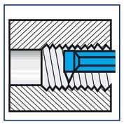 Herramienta torno para roscado interior ISO 13  DIN 283  IZAR - 1