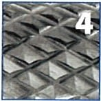 Fresa rotativa forma cónica, en metal duro, IZAR - 5