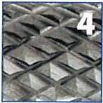 Fresa rotativa en forma de LLAMA metal duro IZAR - 5