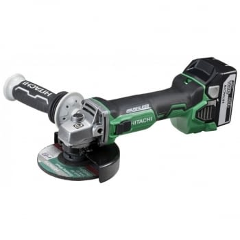 Mini-amoladora a batería 18V  125 mm G18DBBL  HITACHI