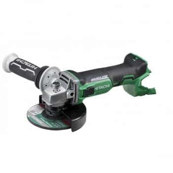 Mini-amoladora a batería, no incluida, 18V  125 mm G18DBBLW2  HITACHI